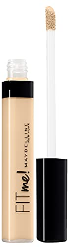 Maybelline New York, Corrector de Ojeras e Imperfecciones Fit Me, Todo Tipo de Pieles 15, Fair, 6,8 ml