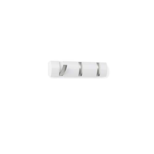 Umbra 318853-660 Percha de Pared Flip 3 Blanco