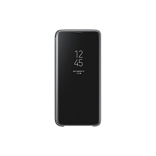 Samsung Clear View Standing Cover - Funda para Galaxy S9, color negro
