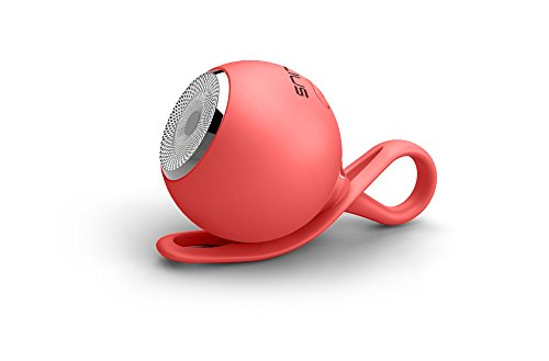 Talius Drop - Altavoz Bluetooth, 3W, Color Rojo