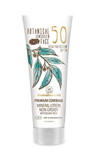 Australian Gold Botanical Spf50 Tinted Face #Fair-Light, Blanco, 88 Mililitros