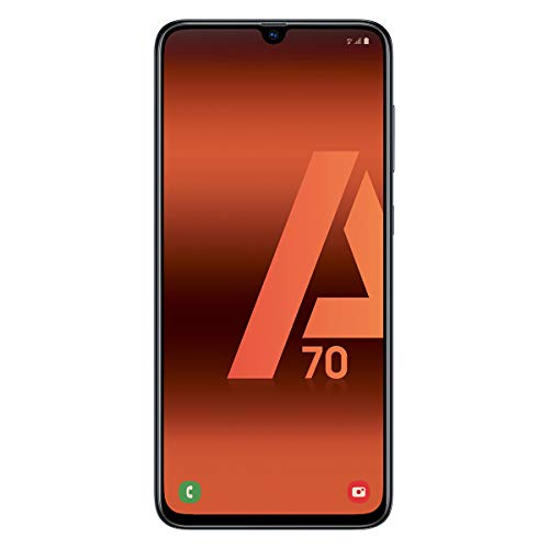 Samsung Galaxy A70 (128gb, Dual-SIM, pantalla de 6.7 ' Full HD + Dynamic AMOLED, 4500 MaH), color negro [Versión española]