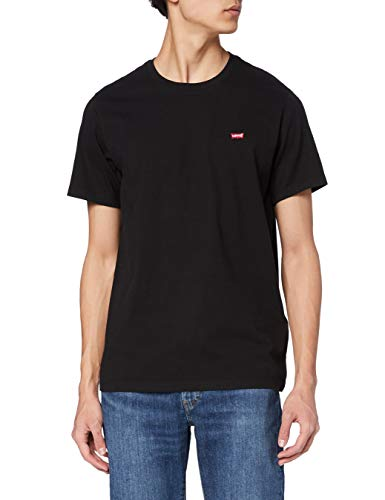Levi's SS Original Hm tee Camiseta, Cotton + Patch Black, 3XL para Hombre
