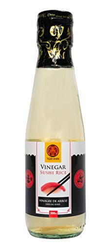 TIGER KHAN Vinagre de Arroz para Sushi 200ml