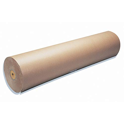 Maildor - Rollo de papel kraft (50 m x 1 m, 64 g), color marrón claro