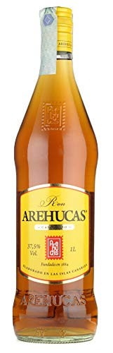 AREHUCAS Ron Carta Oro - 1000 ml, Botella (006101)