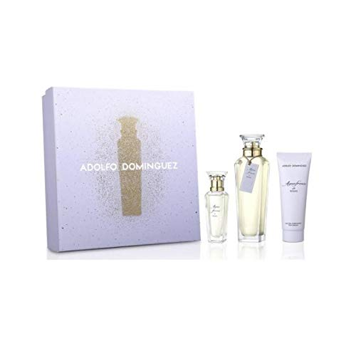 Adolfo Dominguez Agua Fresca De Rosas Eau de Toilette Spray 120 ml Caja 3 Productos 2020