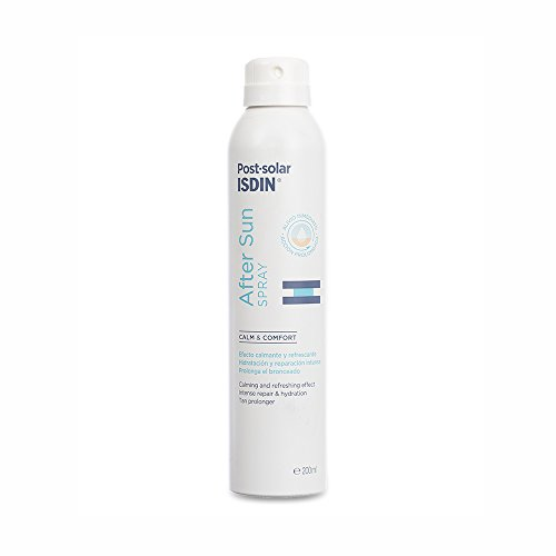 Isdin After Sun Spray, Efecto calmante y refrescante, hidratación y reparación intensa - 200 ml