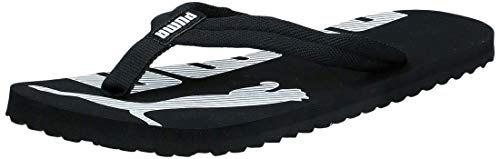 PUMA Epic Flip V2, Chanclas Unisex Adulto, Negro (Black/White), 42 EU