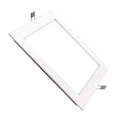 Placa LED Cuadrada 22x22 cm 20W Blanco Frío 6000k-6500k Panel Super slim Empotrado ONSSI LED