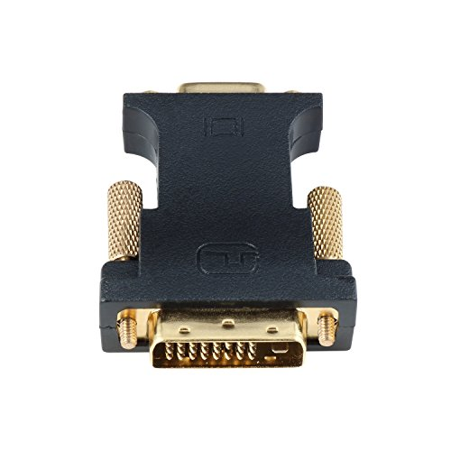 YIWENTEC DVI VGA Adapter Active DVI-D 24+1 to VGA Link Video Adapter Cable Converter for PC DVD Monitor HDTV