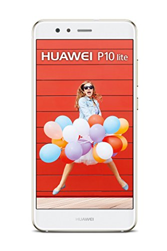 Huawei P10 lite SIM única 4GB 32GB Color blanco - Smartphone (13,2 cm (5.2'), 32 GB, 12 MP, Android, 7.0, Color blanco)