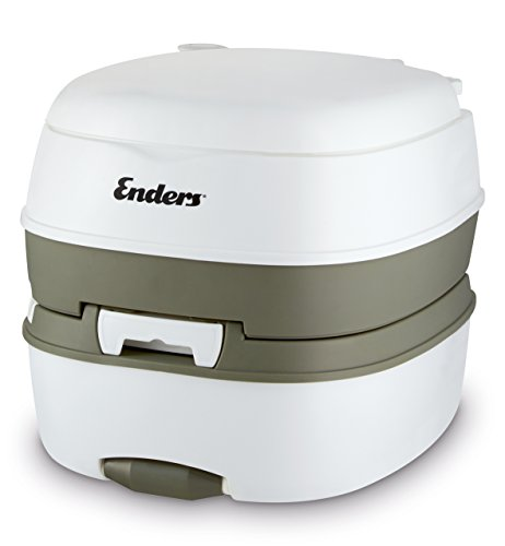 Enders Deluxe-Camping Toilet, White