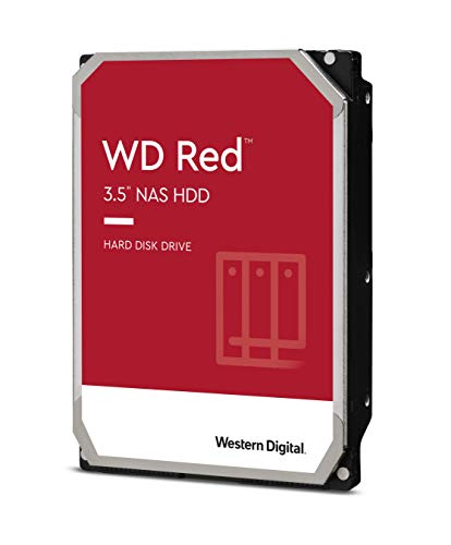 WD Red 4TB Disco duro interno NAS 3.5' - 5400 RPM, SATA 6 Gb/s, SMR, 256MB Cache – WD40EFAX