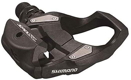 PEDALES SHIMANO Rs500 SPD-SL Pedales, Unisex Adulto, Negro (Negro)