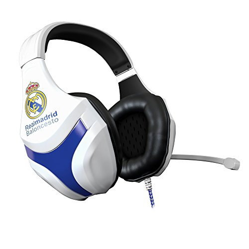 MARSGAMING Mars Gaming MHRM, Cascos Gaming Real Madrid, Superbass, PC/PS4/PS5/XBOX/SWITCH