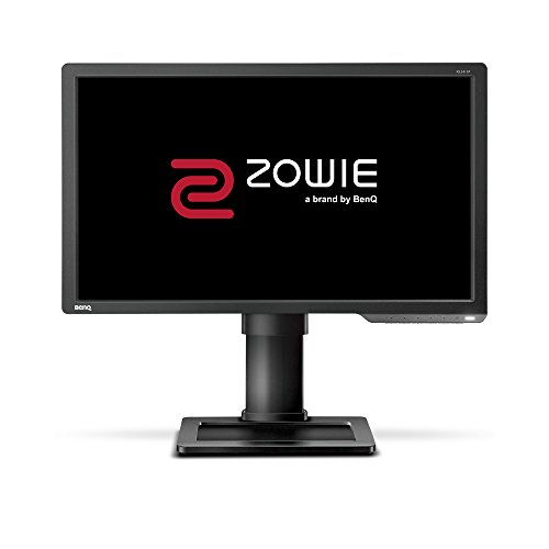 BenQ ZOWIE XL2411P - Monitor Gaming de 24' FullHD (1920x1080, 1ms, 144Hz, HDMI, Black eQualizer, Color Vibrance, DisplayPort, DVI-DL, Flicker-free, Altura Ajustable) - Gris Oscuro