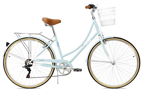 FabricBike Step City (Sky Blue + Cesta)