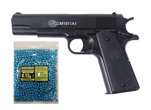COLT Lote/Pack NFL Airsoft Pistola 1911 a1 h.p.a. (Joule