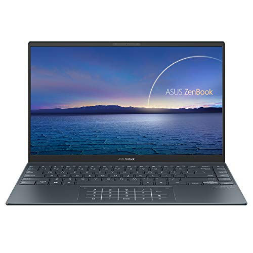 ASUS ZenBook 14 UX425EA-HM038T - Portátil de 14 ' FullHD (Intel Core i5-1135G7, 8GB RAM, 512GB SSD, Intel Iris Xe Graphics, Windows 10 Home) Gris Pino - Teclado QWERTY español