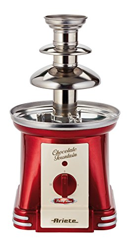 Ariete 2962 Chocolate Fountain Party Time Fuente, Rojo