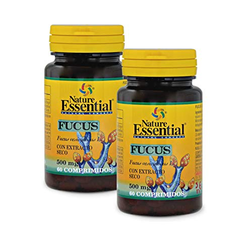 Nature Essential Fucus 500 mg - 60 comprimidos (Pack 2 Unididades)