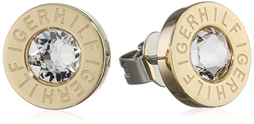 Tommy Hilfiger para mujer-Pendientes Classic Signature acero inoxidable - 2700753