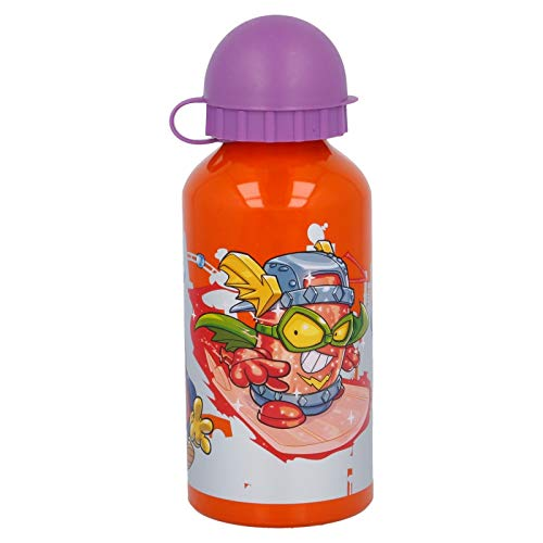 Botella Aluminio 400 ML. Super ZINGS