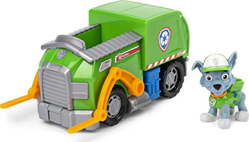 Paw Patrol 6052310 Paw Paw VHC BscVeh LowPriceRocky UPCX GML, 605861 Multicolor