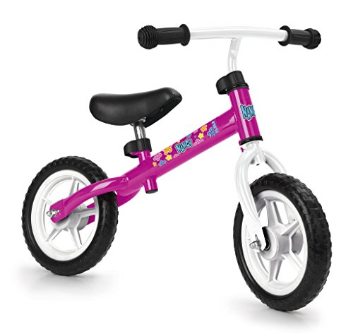 Feber-700012480 Bicicleta sin Pedales, Nancy, Color Rosa, no aplicable (Famosa 700012480)