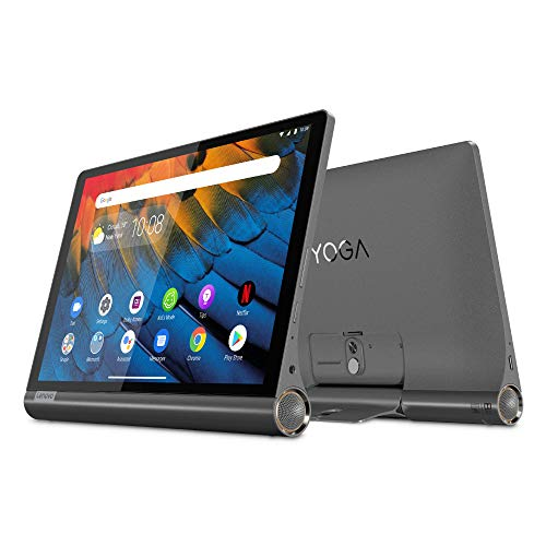 Lenovo Yoga Smart Tab - Tablet de 10.1' Full HD/IPS (Qualcomm Snapdragon 439 Octa-Core, 4 GB de RAM, 64 GB eMCP, Android 9, Wi-Fi + Bluetooth 4.2), Color Negro
