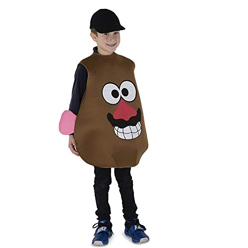 Dress Up America Mr. Potato Costume For Kids Disfraces , Multicolor ( Multi ) , One Size Unisex Adulto