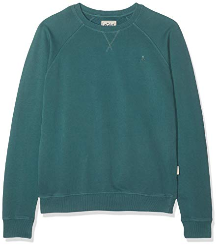 Scalpers Fade Sweater Jersey, Verde (Green 18087), X-Large (Tamaño del Fabricante:XL) para Hombre