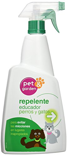 Flower 40559 40559-Repelente Perros y Gatos, 750 ml, No Aplica, 13x5x27.5 cm