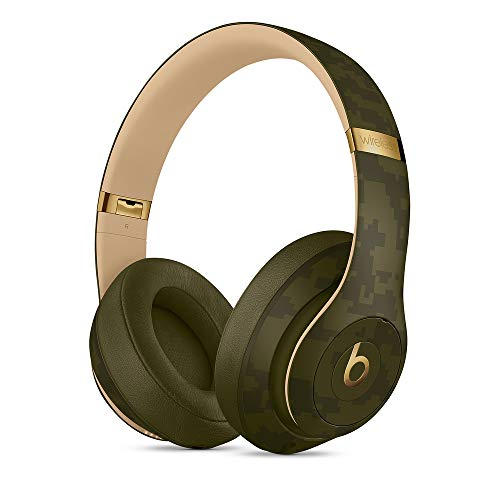 Beats by Dr. Dre Studio3 Inalámbrico Auriculares , Beats Camo Collection, Verde bosque