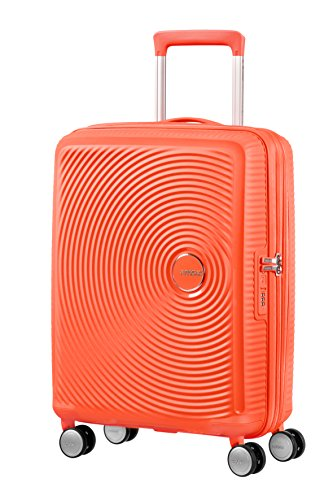 American Tourister - Soundbox Spinner 55/20 Expansible 35,5/41 L - 2,6 KG Spicy Peach