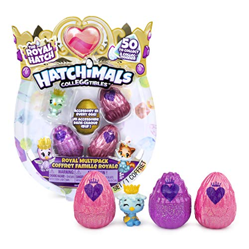Hatchimals CollEGGtibles 4 Pack + Bonus - Season 6 - Kits de figuras de juguete para niños (5 año(s)) , color/modelo surtido