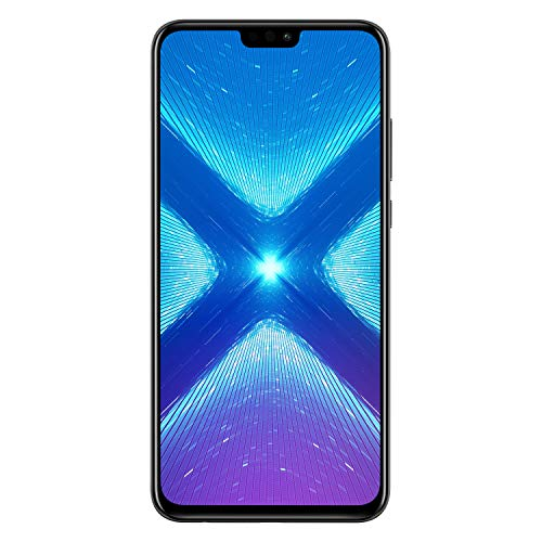 Honor 8X 16,5 cm (6.5') 4 GB 128 GB SIM doble 4G Negro 3750 mAh - Smartphone (16,5 cm (6.5'), 4 GB, 128 GB, 20 MP, Android 8.1, Negro)