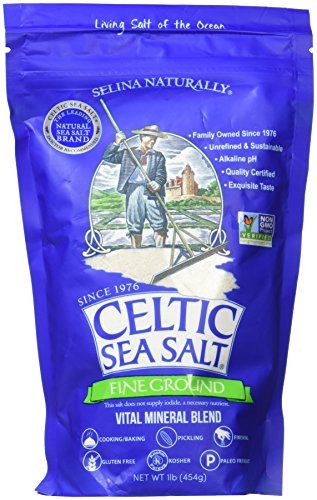 Celtic mar sal, Fine suelo, 16 oz