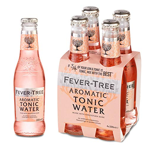 Fever Tree Aromatic Tonic Water, 4 x 20cl