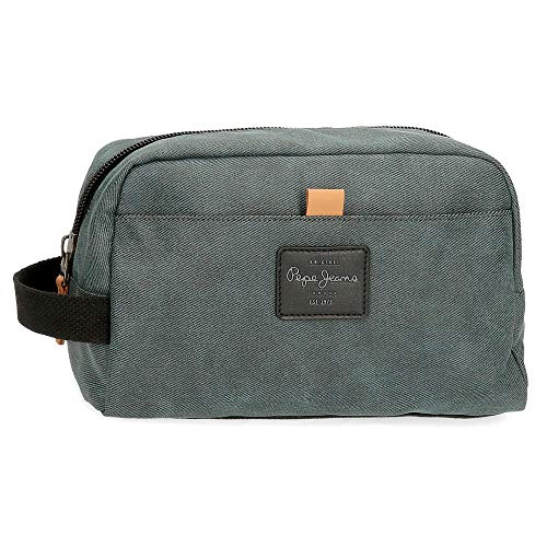 Neceser Pepe Jeans Cargo Adaptable, Gris, Media