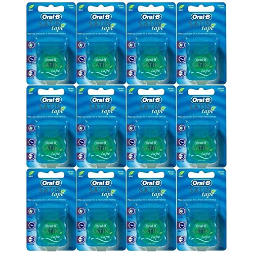 Hilo dental Oral-B Statin Tape Mint, 25 m (12 unidades)