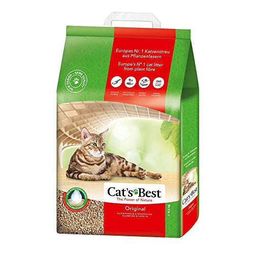 Cat's Best Lecho para gatos Öko Plus, 20L (8.6kg)