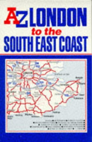 London to the South East Coast Map (Road Maps)