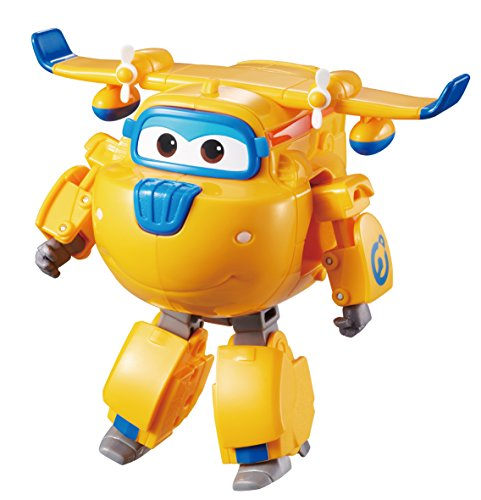 Super Wings YW710220 Transforming Donnie, color azul (AuldeyToys , color/modelo surtido