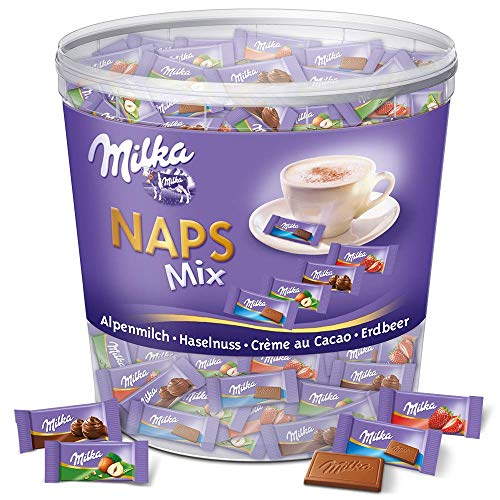 MILKA NAPS Mix Chocolate 207 x 5g