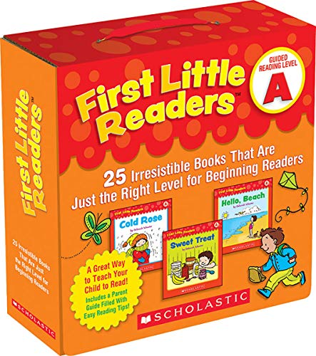 Schecter, D: First Little Readers: Guided Reading Level A: 25 Irresistible Books That Are Just the Right Level for Beginning Readers (Guided Reading Pack)